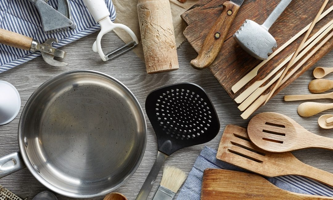 Quali utensili in cucina?